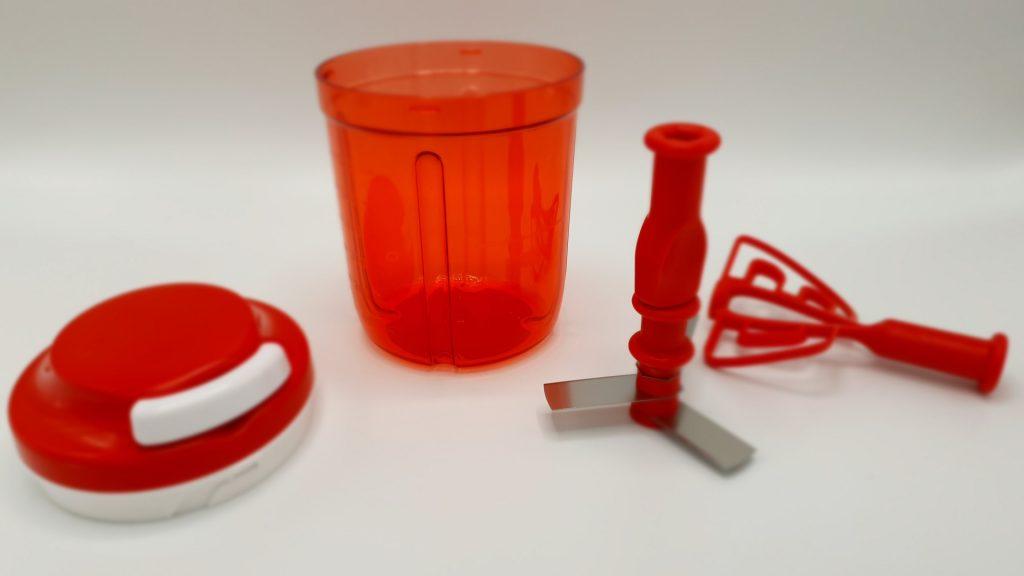 Rozložený výrobek Tajfun/Tupperware Bohemia