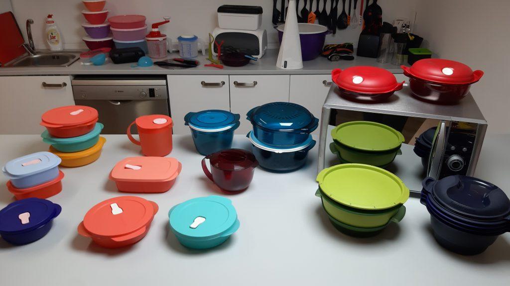Tupperware nádoby do mikrovlnné trouby